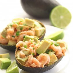 Shrimp & Avocado Salad (Low Carbs)
