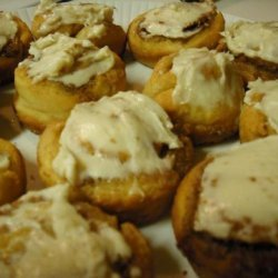 Mini Cinni Yogurt Biscuit Rolls