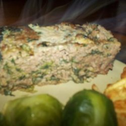Gyro Meat Loaf W/ Tzatziki Sauce