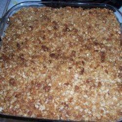 Butterscotch Apple Pear Squares