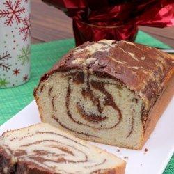 Chocolate Eggnog Cake
