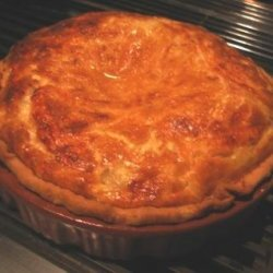 Swiss Cheese Quiche With Mushrooms & Onions