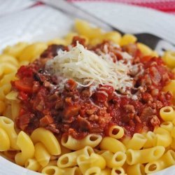 Meat-Lover's Pasta Sauce