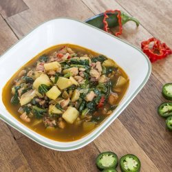 Vegetable and Ham Soup