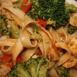 Chicken & Broccoli in Peanut Sauce