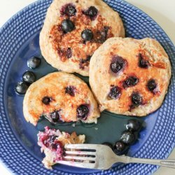 High Protein Oatmeal Pancake for One