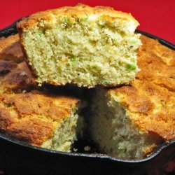 Oh Soooo Good Asiago-Green Onion Cornbread -- Small Iron Skillet recipe