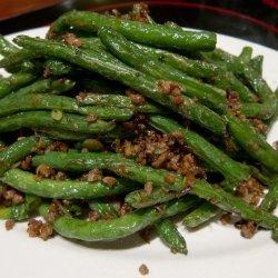 Gan Bian Si Ji Dou (Fried Sichuan Green Beans)