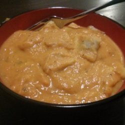 Pumpkin and Sweet Potato Ravioli