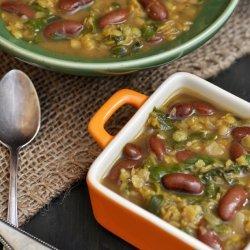 Bean Lentil Spinach Soup