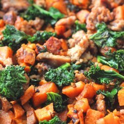Roasted Sweet Potato Hash Browns