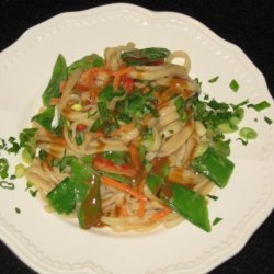 Cold Sesame Noodle Salad With Spicy Peanut Dressing