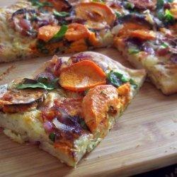 Spinach and Potato Pizza