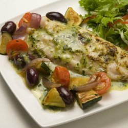 Baked Fish With Italian Herbs
