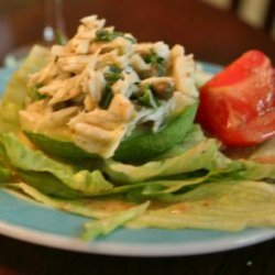 Avocado Stuffed With Crabmeat Maison, or Cold Crab Salad