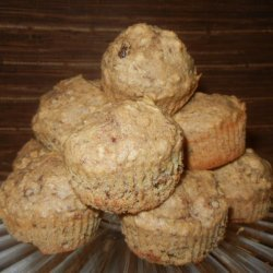 Flaxseed Raisin Muffins