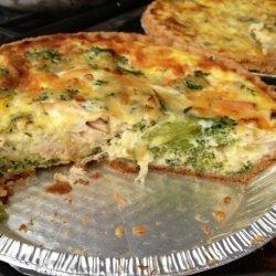 Chicken & Broccoli Quiche