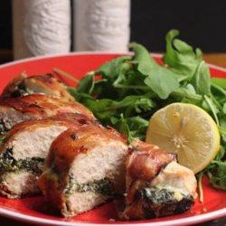 Ricotta Spinach Stuffed Chicken Breast