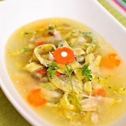 Chicken Egg Noodle Soup