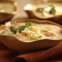 Southwest Chicken Rice Soup
