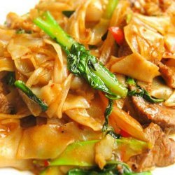 Thai Drunken Noodles recipe