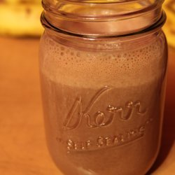 Banana Milkshake (Chocolate)