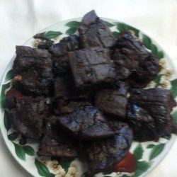 Double Chocolate Brownies - No Nuts