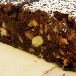 Spicy Chocolate Panforte