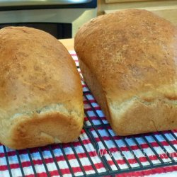 Oatmeal Wheat Bread