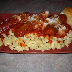 JJ's Red Wine Spaghetti Sauce