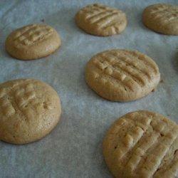 fooled Me  Flourless Peanut Butter Cookies