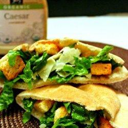 Salad Stuffed Pita Sandwiches