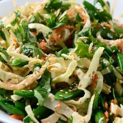 Cabbage Salad and Dressing