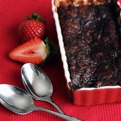 Chocolate Raspberry Pudding Cake