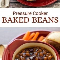 Baked Beans I Pressure Cooker