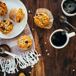 Bowl of Oatmeal Muffins
