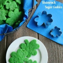 Shamrock Kiss Cookies