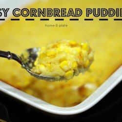 Easy Cornbread Pudding