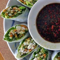 Vietnamese Prawn and Pork Rolls