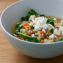 Vegetarian Potato Lentil Soup