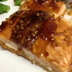 Hoisin-Glazed Baked Salmon