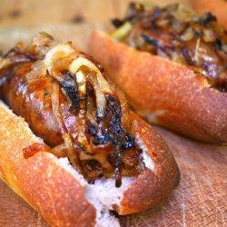 Cider-Braised Sausages