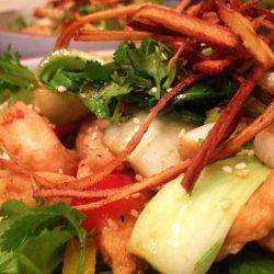 Warm Chinese Chicken Salad