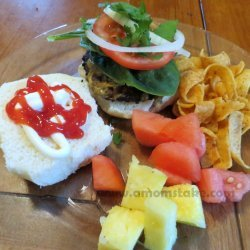 Easy Grilled Hamburgers