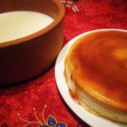 Flan De Adi (Caramelized Heavy Cream Dessert)