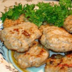 Maple Sausage Patties recipe