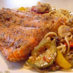 ChuckWagonCookie's Pan Seared Crispy Skin Salmon recipe