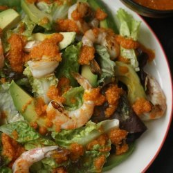 Avocado Salad With Ginger-Carrot Dressing