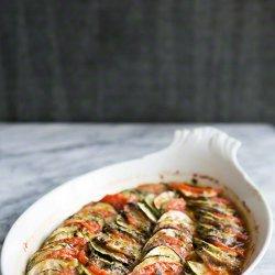 Eggplant Tomato Gratin