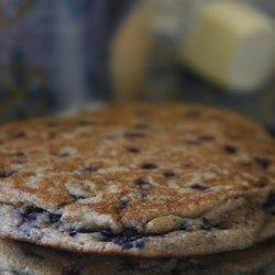 Blueberry Walnut Pancakes